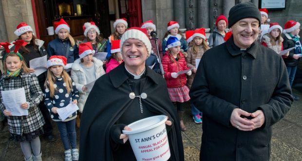 black santa christmas sit out begins in dublin - Black People Christmas