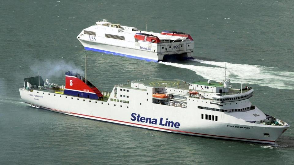 Fears Ferry Operator Stena Line May Pull Out Of D 250 N Laoghaire