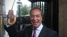 Steph and Dom met Nigel Farage, and the results were about as funny as Mussolini
