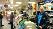 Open for business: the Christmas Day newsagents