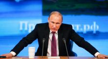 Speaking at his annual end of year press conference in Moscow, the Russian president Vladimir Putin pledged to push through long delayed reforms to reduce his country's risky dependence on energy export earnings.