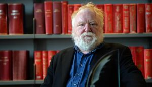 Thought-provoking: Frank McGuinness. Photograph: Eric Luke / The Irish Times