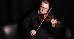 Bryan Rooney: catalogue of ill-health left him unable to play fiddle for a time. Photograph: Brian Farrell