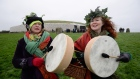 Hundreds celebrate Winter Solstice at Newgrange