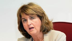 Tánaiste Joan Burton: 'I was worried about the parallels with fascism. How you move from a situation where you are arguing as you see it from a democratic point of view but you then decide that imprisoning people in a car is an appropriate way to treat people or to have some kind of a democratic discussion, I simply don't know.' Photograph: Eric Luke/The Irish Times