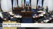 The Seanad is meeting to consider the final stage of the Water Services Bill.