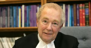 "President of the High Court the Hon Mr Justice Nicholas Kearns  said on Monday,  ""Time is of the essence."" Photograph: Alan Betson/The Irish Times"