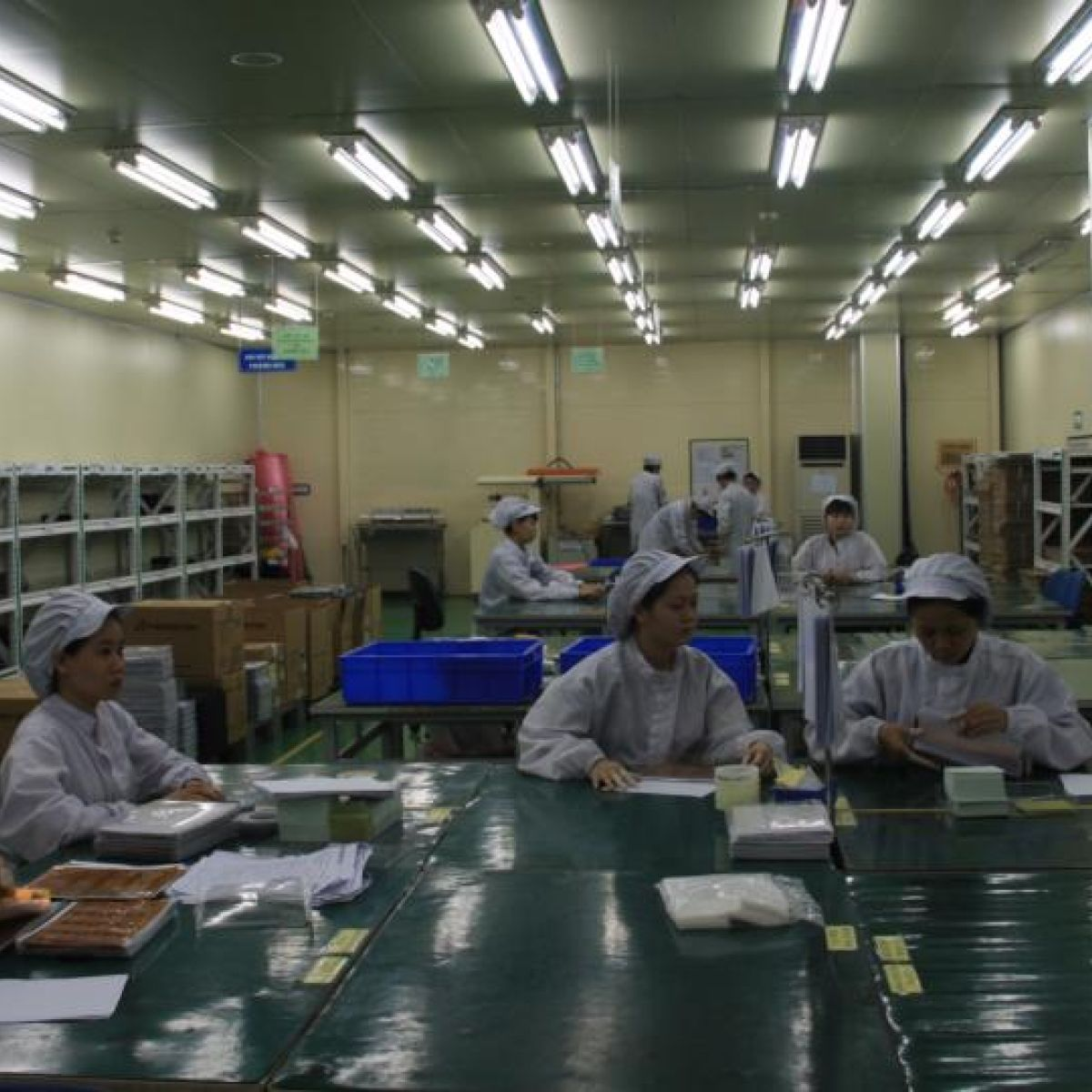 Life in Vietnam factory: forced overtime and €25 a week