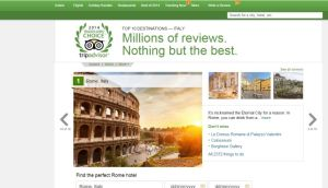 Italy's competition watchdog has fined travel website TripAdvisor €500,000 for publishing misleading information in its reviews