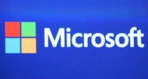 Microsoft is appealing a court order to hand over emails held on an Irish server. Photograph: Justin Sullivan/Getty Images