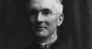 Fr Ned Dowling, who served as a Catholic chaplain with the Royal Dublin Fusiliers throughout the first World War.