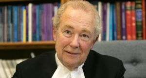 Mr Justice Nicholas Kearns, one of the three judges, who handled proceedings with delicacy and tact, as the evidence proceeded swiftly