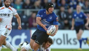 Hooker Richardt Strauss will make his 100th appearance for Leinster in their Guinness Pro 12 game away to Munster at Thomond Park on St Stephen's Day. Photograph:  Dan Sheridan/Inpho