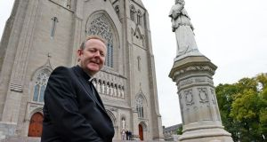 Dr Eamon Martin  at St Patrick's Cathedral, Armagh. Photograph: Eric Luke/The Irish Times