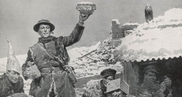 Christmas 1914.Fr Ned Dowling S First World War Diary Describes Christmas