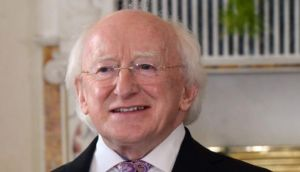 President Michael D Higgins signed the Water Services Bill into law after giving it careful consideration, a statement said. Photograph: Cyril Byrne