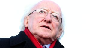 President Michael D Higgins has signed the water charges into law and ignored pleas from a range of Opposition TDs and Senators to refer the legislation to the Supreme Court. Photograph: Donall Farmer/Inpho