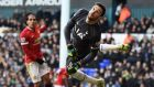 Hugo Lloris was the thorn in Manchester United's side as Spurs held Louis Van Gaal's side to a 0-0 draw at White Hart Lane