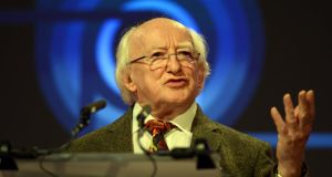 'We have a President, Michael D Higgins, who has called for a national discourse on how to live together ethically, and this invitation is being taken up in civil society.' Photograph: Cyril Byrne / THE IRISH TIMES