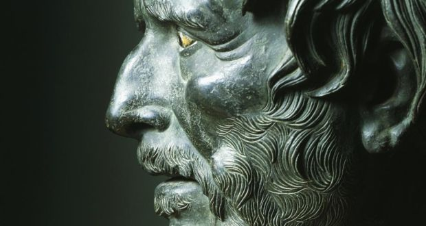 A bust of Seneca. According to the philosopher, how you feel is your own responsibility and nobody else's. Photograph: Thinkstock
