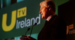 "Pat Kenny will host a chatshow on UTV Ireland in the spring as well as fronting a documentary called ""Out with the Old – In with the U"" on New Year's Day. Photograph: Cyril Byrne/The Irish Times"