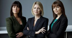 UTV Ireland's three news reporters Sarah O'Connor, Claire Brock and Sinéad O'Donnell.