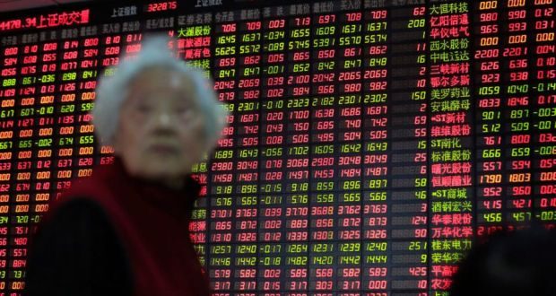 China stocks closed up more than 2 per cent on Wednesday, boosted by a late afternoon rally which helped the stock market become the best performer among major global bourses this year. (Photograph: Aly Song/Reuters)