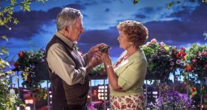 Happy ever after: Dustin Hoffman as Mr Hoppy and Judi Dench as Mrs Silver