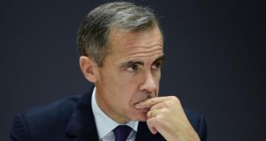 Bank of England governor Mark Carney is very concerned by the new market circumstances. Photograph: Anthony Devlin/WPA Pool/Getty Images