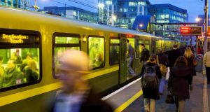 Dart and other commuter services reached 29.3 million journeys. Photograph: Iarnród Éireann