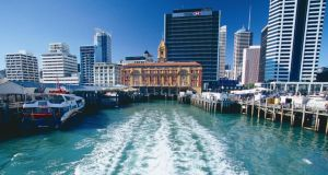 Built around two harbours, Auckland is known as the 'City of Sails'. Photograph: Tourism New Zealand