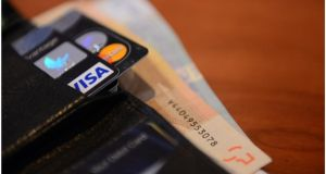 IVAs are applicable to all types of unsecured debt over Str£10,000, including bank loans, credit cards, store cards, and overdrafts. (Photograph: Bryan O'Brien / THE IRISH TIMES)