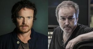 Musician Damien Rice and composer David Arnold