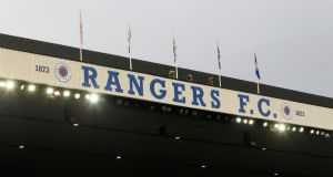 "The Rangers board has rejected Robert Sarver's £18million takeover bid after claiming it does not ""adequately value a controlling interest in the Company"".(Photograph: Lynne Cameron/PA Wire)"