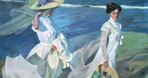 A detail from Walk on the Beach (1909) by Joaquín Sorolla. Courtesy of the Sorolla Musuem
