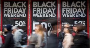 Retailers are counting the cost of Black Friday as they survey the damage the discounts have done to their profit margins over the Christmas season. Photograph: Rob Stothard/Getty Images