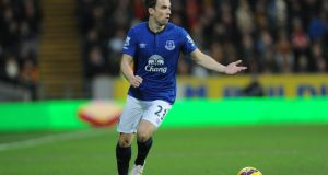 Everton's predicament this season has been bothering Vinny. Seamus Coleman has been a wonder going forward but if Vinny was in charge he'd remind him of his primary duty – defending. Photograph: Anna Gowthorpe/PA Wire.