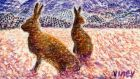 Mainly on the plain: happy hares in Spain. Illustration: Michael Viney