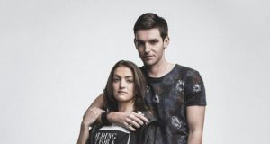 Actors India Mullen and Adam Weafer from 'Red Rock', TV3's brand new twice-weekly drama