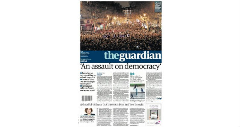 the guardian reaction paper With its latest move, the guardian is embracing its monopoly over its readership, especially in what it does not give - though in a growing market of news and opinion, it is a perhaps a false monopoly that will hasten the paper's decline.