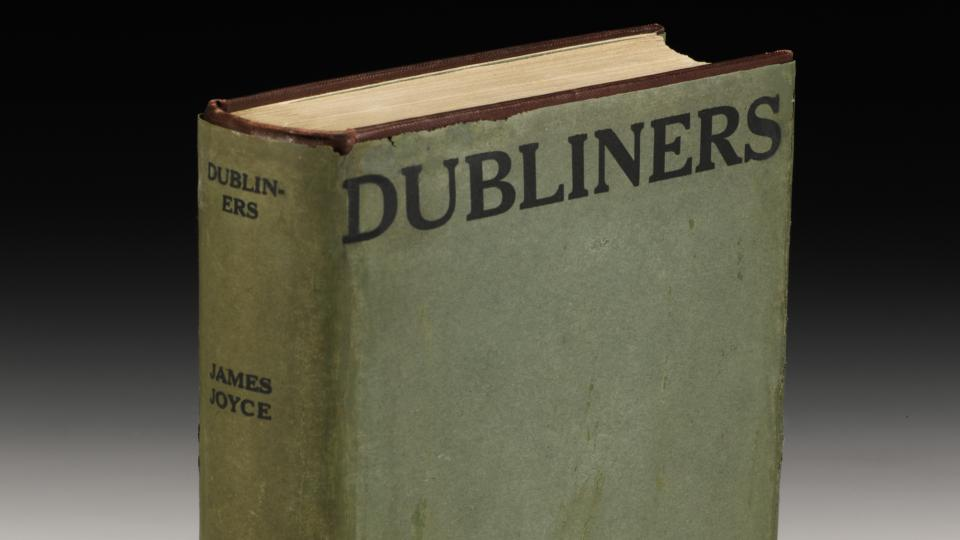 First editions of James Joyce's 'Dubliners' now classed as antiques