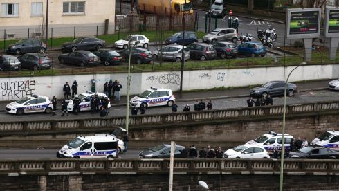 Porte de Vincennes ended up on lockdown on January 9th, 2015, as the hostage-taking unfolded. Photograph: Dan Kitwood/Getty Images