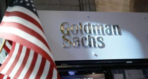 Goldman Sachs   was appointed by the Department of Finance following a tender process. Photograph: Brendan McDermid/Reuters