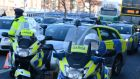 Assistant Commissioner John Twomey said 13 people were arrested on suspicion of intoxicated driving on Christmas Day 2014, which is two more than Christmas Day 2013. Photograph: Cyril Byrne/The Irish Times.