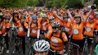 Cyclists at the 2014 Cycle Against Suicide.Photo: Gareth Chaney Collins