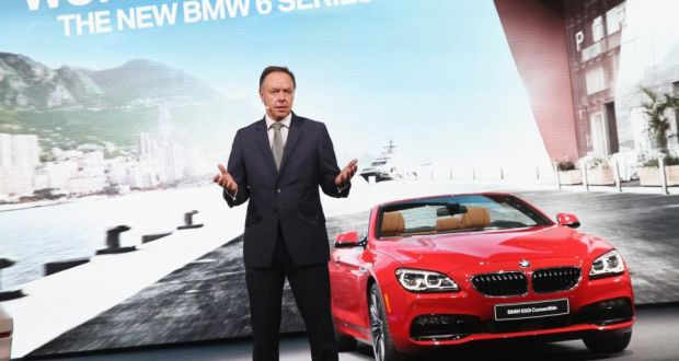 BMW sounds alarm over tech companies seeking connected car data