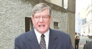 Ray Burke: Has received a letter of apology from the tribunal. Photograph: Peter Thursfield/The Irish Times