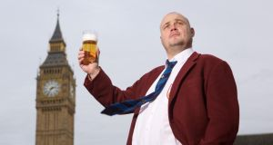 Election hopeful: Al Murray, the Pub Landlord, who intends to stand in the general election. Photograph: Press Association