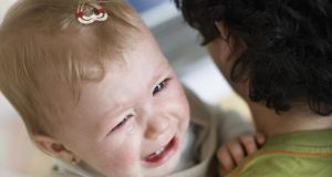 Is there anything we can do to help her calm down and accept her father? Photograph: Thinkstock Images