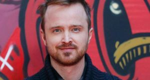 Aaron Paul: dreams of being born. Photograph: Robbie Reynolds